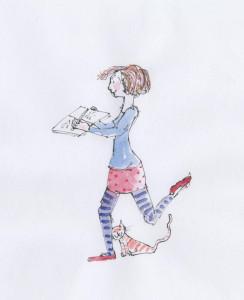 Workshop Book lady 001